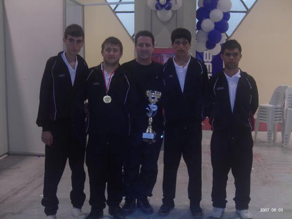 Karatay Lisesi Şampiyon
